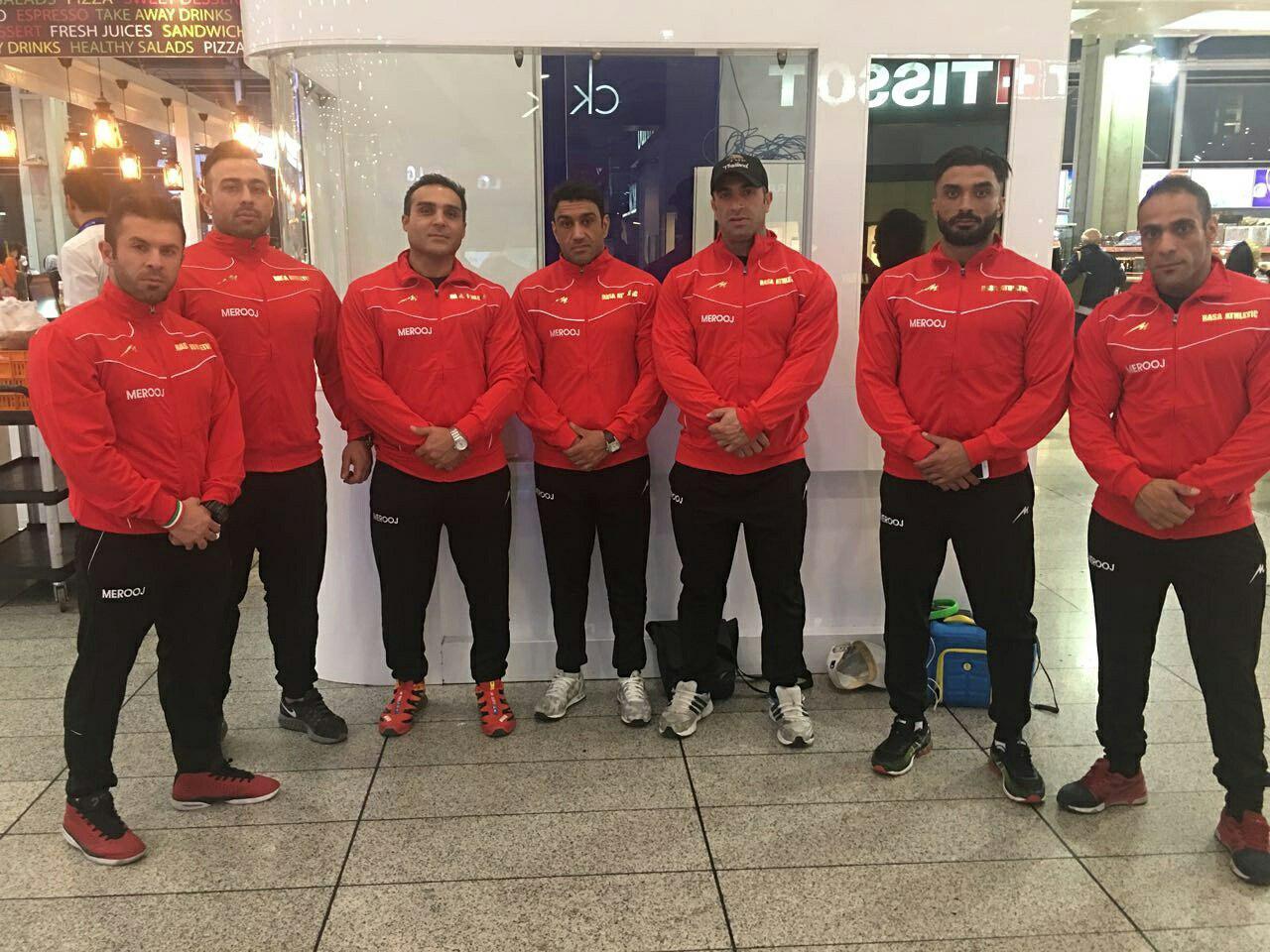 اعزام تیم ایران به مسابقات WBBF-WFF لیتوانی 2016