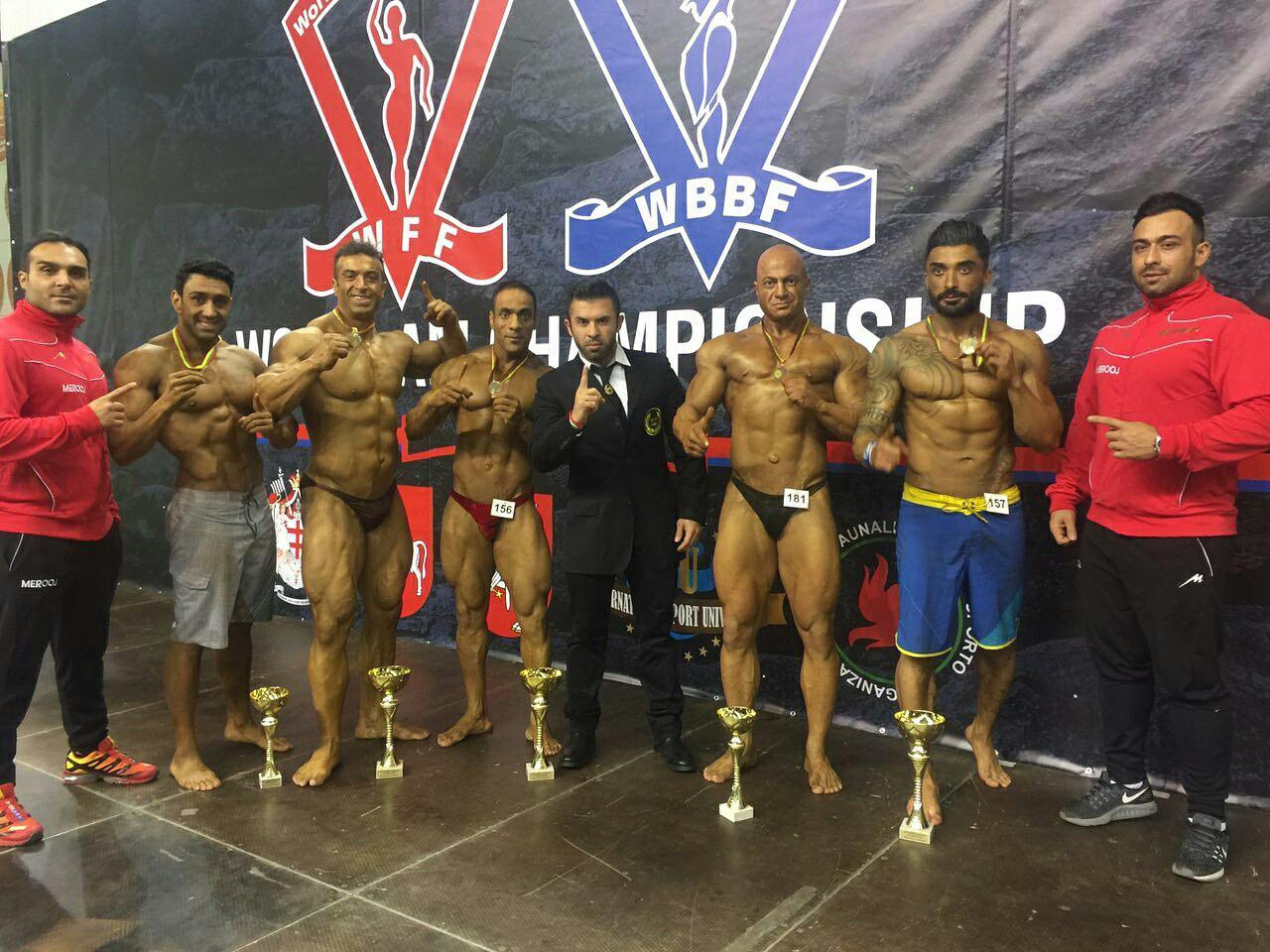 نتایج مسابقات WBBF-WFF لیتوانی 2016