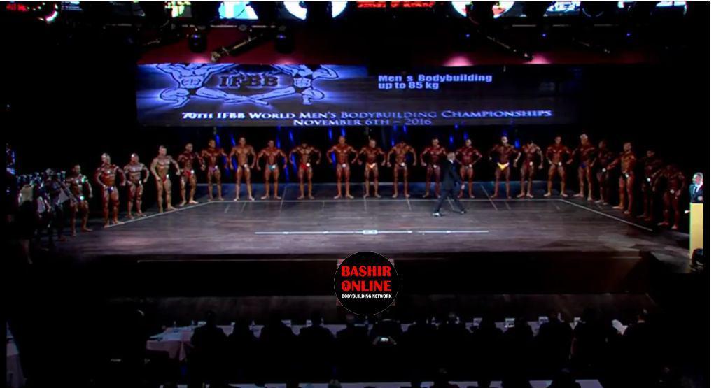 مسابقات جهانی پرورش اندام و بادی کلاسیک اسپانیا 2016