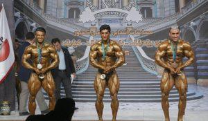قهرمانان وزن ۷۵ کیلوگرم