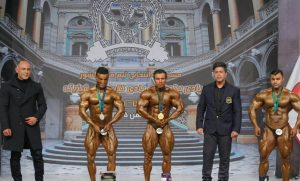 قهرمانان وزن ۸۰ کیلوگرم