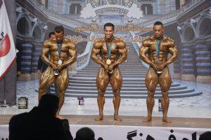 قهرمانان وزن ۸۵ کیلوگرم