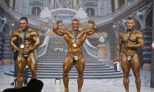 قهرمانان وزن ۹۵ کیلوگرم