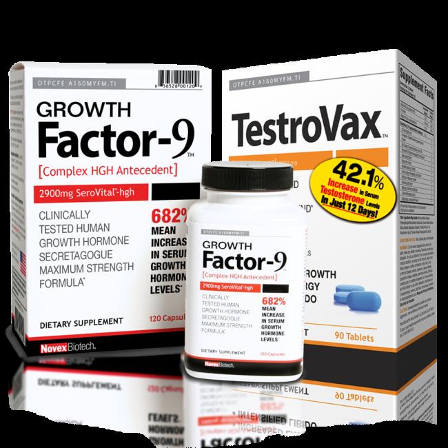 TestroVax و Growth Factor-9