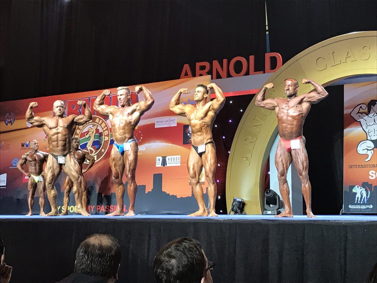رقابتهای آرنولد کلاسیک آفریقای جنوبی ۲۰۱۷