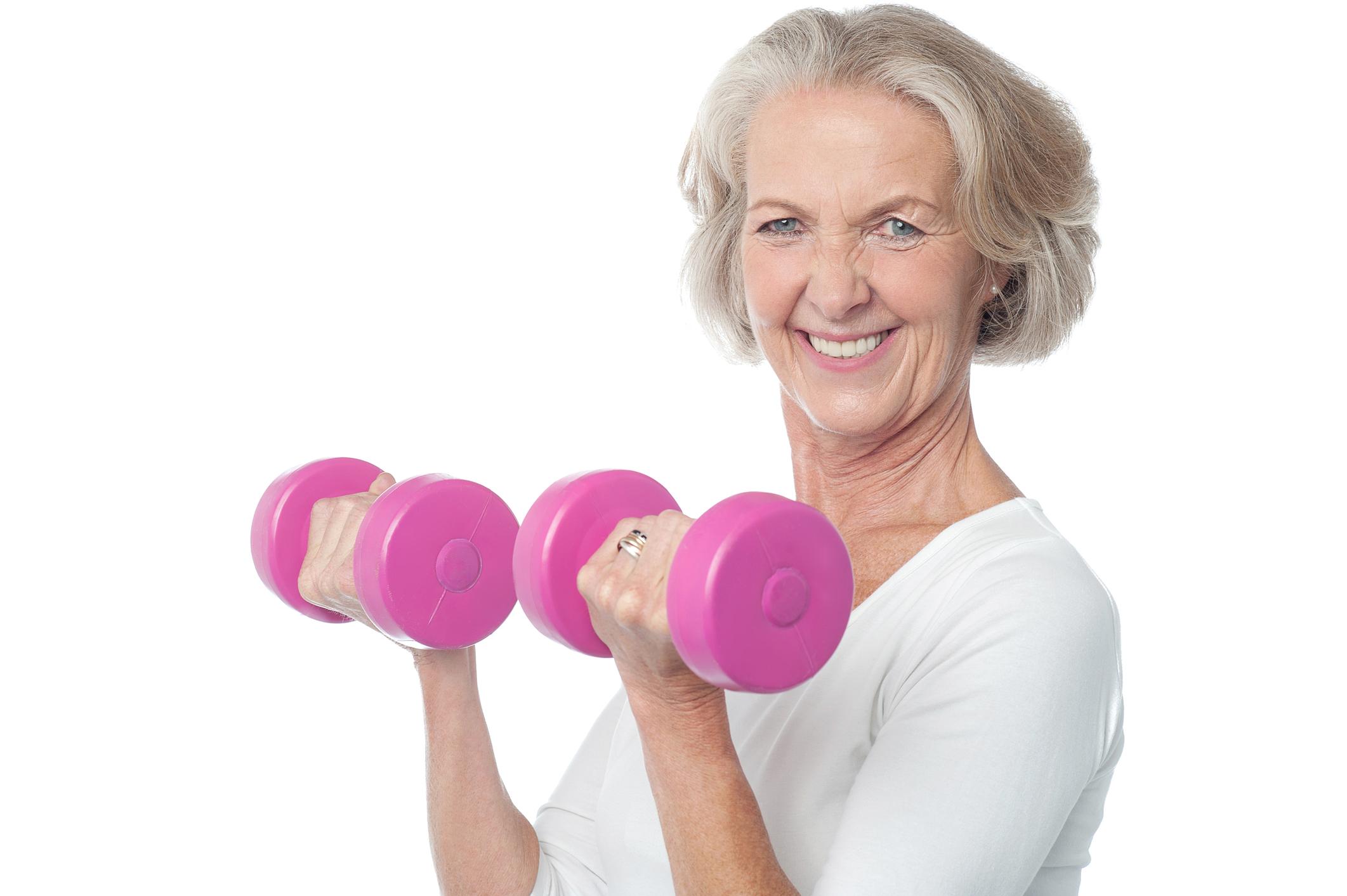 تمرینات قدرتی برای زنان بالای ۴۰ سال