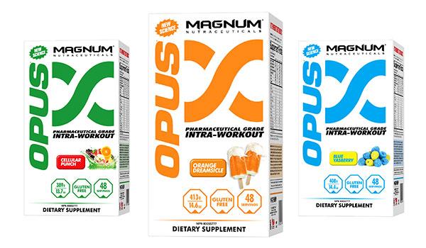 مگنوم اپوس در سه طعم مختلف