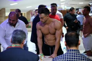 تصاویر وزن کشی چهارمین دوره مسابقات جام الماس